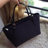 fashion new lady women leather totes double letter T persona...