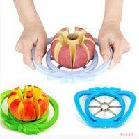 Mutfak alet Apple tart Dilimleme Paslanmaz Çelik Kolay Kesici Kesme Meyve Bıçağı Kesici İçin Elma Armut Meyve Sebze Araçları DBC BH3765