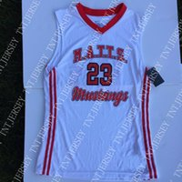 Cheap custom M. A. T. T. S. Mustangs Basketball Jersey #23 Stitc...