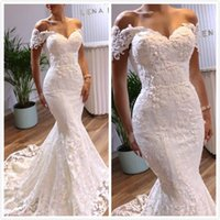 Vintage Sexy Mermaid Arabic Wedding Dresses Sweetheart Beade...