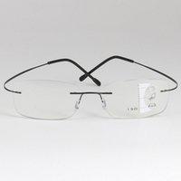 Çerçevesiz Gözlük Çerçeve Çerçevesiz Çok Odak Aşamalı Okuma Cam Kadın Erkek Presbiyopik Gözlük Büyüteç Yaşlı Adam