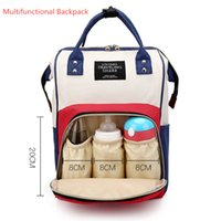 Multifunctional Baby Diaper Backpack Mommy Changing Bag Mumm...
