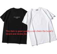2020 Luxury Mens Designer T Shirt Casual Mens Loose Brand Tees With Letters Print Short Sleeves Top Sell Fashion Mens T Shirt Size S-2XL