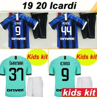19 20 ICARDI PERISIC Kids Kit Soccer Jerseys BROZOVIC LAUTAR...