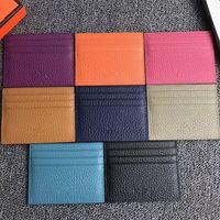 2021 Neue Männer Frauen Clutch Brieftaschen Berühmte Echtes Leder Kreditkartenhalter Mini Wallet Mode ID Karten Fall Tasche Tasche Münze Tasche Geldbörse