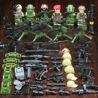 Military Special Forces Soldiers Series Building Blocks Alph...