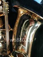 Nuovo JK Keilwerth ST110 Alto Eb Tune Ottone Sassofono Lacca oro Sax piatto con accessori per bocchino Spedizione gratuita