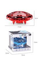 비행 공 적외선 센서 대화 형 UFO 장난감 인텔리전스 센서 항공기 어린이를위한 장난감 360 ° UFO 공 3 색