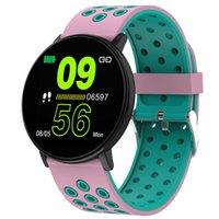 100 stücke W8 Smart Uhr für Samsung Uhren Fitness Tracker Armbänder Frauen Herzfrequenz Monitor Smartwatch Wasserdichte Sport Android