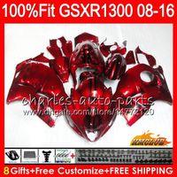 OEM Für SUZUKI GSXR1300 Hayabusa candy red 08 14 15 2008 2014 2015 25HC.221 GSXR 1300 GSXR-1300 16 17 18 2016 2017 2018 Einspritzverkleidung