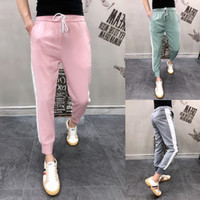 Cotton track baggy Pants trousers men Male 2019 Thin Section...