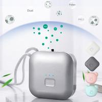 Bambino Adulto Assurabile Purificatore d'aria Personale Mini Air Negable Ion Maker Collana USB Portatile Anion Air Decetente per filtro con cordino