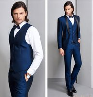 Custom Made Latest Design Handsome Wedding Suits Slim Fit Gr...