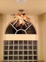 Lampadario luce Piccolo economico risparmio energetico Fonte Chihuly mano di stile Luce soffiato cristalli di Murano Glass Chandelier
