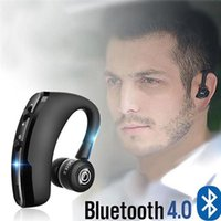 V9 Bluetooth Earphones Noise Control Business Wireless Bluetooth Headset with Mic for Driver Sport Handsfree Wireless PK i7S tws