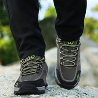 BOUSSAC professionale Outdoor Trekking scarpe impermeabili scarpe Camping Sport Sneakers Men Anti-Skid antiusura Trekking ooerg