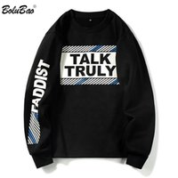 Thick New Men Hoodies Autumn Men' s Letter Printing Pull...