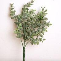 Las plantas artificiales Verde Eucalipto Planta boda de la flor decorativa Accesorios Ins fotografía apoya Ministerio del Interior Decoración del partido CYL-YW4070