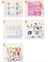 Sanitária Saco bonito do tecido de algodão guardanapo de armazenamento saco de grande capacidade Mulheres Sanitária Storage Bag Credit Card Organizer
