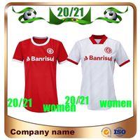 20/21 Internacional RS Femme Soccer Jersey 2020 Brésilien Guerrero Home Shirt de football rouge N. Lopez N. Patrick Pottke Rgirl Football Uniforme