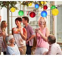 Outdoor Fata Lanterna Solar String Lights 10/30 LED Natale Globe Light per Indoor e Outdoor Garden Garden Wedding Party