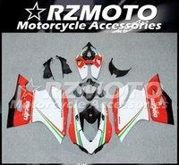 OEM molde de inyección de la calidad del nuevo ABS kits del carenado de la motocicleta apto para Ducati Panigale 1199 899 899S 1199S 2013 2014 2015 blancos personalizado Rojo Verde