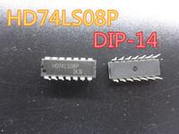10pcs / lot Nueva Circuitos Integrados HD74LS08P DIP-14 en el envío libre