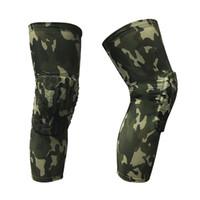 Yuerlian 2 шт Соты Speedcross Knee Brace Спорт Безопасность Баскетбол Kneepad компрессионные носки Защита Scotch Camo Наколенники