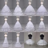 Disponibles Vestido de boda Petticoat Crinoline Nupcial Hoop Slip Stretchirt Wedding Tardes Vestidos de fiesta de alta calidad