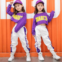New Hip Hop Girls Clothing 2pcs Teenage Girls Crop Long Slee...