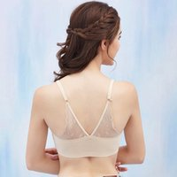 Ice Silk Women Wrapped Chest Lace Bra Black Tube Top Female ...