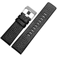Натуральная коричневая кожа bracele мягкие ремешки для часов Z7313 Z7322 Z7257 мужские ремешки для часов с пряжкой из Щепки