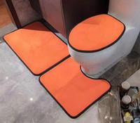 DIY Tasarım Lüks Dikdörtgen Carpet 3adet 40 * 51cm50 * 58 50 * 75cm Çocuklar Tarama Mat Banyo Paspasları için Odalar çok renk TX22