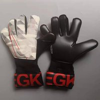 Niños hombres profesionales fútbol portero guantes fuerte sin dedos guardado protección espesar látex de futebol portero objetivo Guante Guante