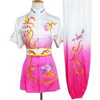 사용자 정의 중국어 무술 유니폼 쿵후 의류 무술은 taolu는 남성 여성 아동 소년 소녀 아이 성인을위한 일상적인 옷 차림새에 맞게