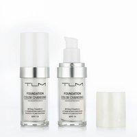TLM لا تشوبه شائبة تغيير لون مؤسسة دافئ لون البشرة اللون الوجه ماكياج قاعدة عاري تغطية الوجه الترطيب السائل المخفي