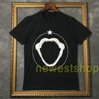 2020 Sommerkleidung Männer Tiere Rottweiler 3D Hai Druck T-Shirt Designer T-Shirt Baumwolle Stern-Druck-T-Shirt Männer-Frauen-Baumwolle übersteigt T-Shirt