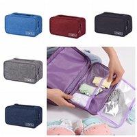 محمول البرازيلي ملابس داخلية حقيبة التخزين ماء سفر الجوارب مستحضرات التجميل درج منظم خزانة خزانة الملابس الحقيبة CCA11860-C 100pcs التي