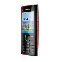 تم تجديده الهاتف الأصل نوكيا X2-00 موبايل 2.2inch 500MP كاميرا GSM مقفلة الهاتف 860mAh بطارية اللون الأسود الفضة