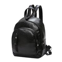 f3baa145cc98 New Arrival. Pu Leather Mochila Escolar School Bags For Teenagers Girls New  Travel Backpack Korean Women Female Rucksack Leisure Student