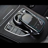 Centre de Style de voiture Souris Bouton de commande de protection Handwriting Film autocollant pour Mercedes Benz C E S V Classe GLC GLE W205 W213 W222