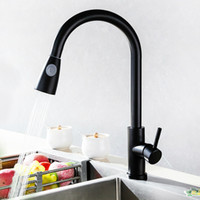 New Kitchen Pull Rotating Hotel Bar Faucet Stainless Steel P...