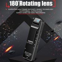 A16 Mini Dijital Kamera HD Wifi Giyilebilir Mini Vücut Kamera Hareket Algılama Spor DV DVR Video Kaydedici Kablosuz Küçük Kamera Klip Cam