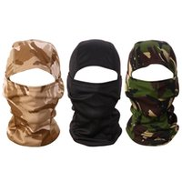3D Camouflage Camo Headgear Balaclava Face Mask for Hunting ...