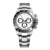 Высокие продажи высокого качества мужские часы 116500ln автоматические механические часы керамические часы рамы стали 316L регулируемые складные пряжки