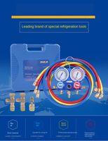 VMG -2- R410A / R22-B / R134A-B 이중 시계 밸브 에어컨 플러스 m 액체 냉매 m 밸브 플러스 액관