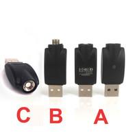 뜨거운 O 펜 배터리 무선 USB 충전기 전자 담배 USB 충전기 어댑터 eGo 510 스레드 버드 터치 808D 배터리 vape 펜
