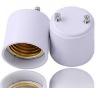 GU24 E27 duy bankası tutucu soket adaptörü, GU24 erkek E27 dişi dönüştürücü led ampuller için LLFA