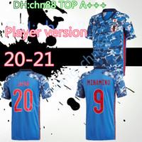 Jogador Versão 2019 2020 Japão Home Soccer Jersey National Team Atom Kagawa Endo Okazaki Nagatomo Hasebe Kamamoto Camisa de Futebol