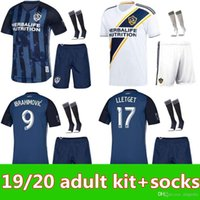 19 20 MLS LA Galaxy kit de hombres Uniformes de camiseta de fútbol 2019 2020 Los Angeles Galaxy IBRAHIMOVIC GIOVANI KAMARA kit de fútbol de adultos kit de camiseta